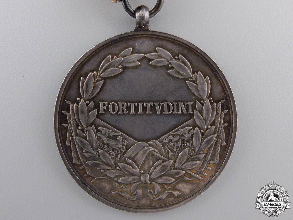 A 1917-1918 Bravery Medal; Silver Grade 1st Class