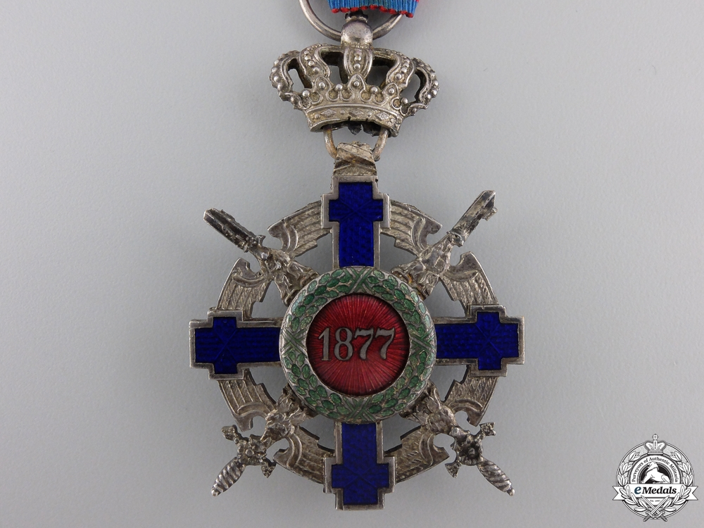 An Order of the Romanian Star; Military Division Knight