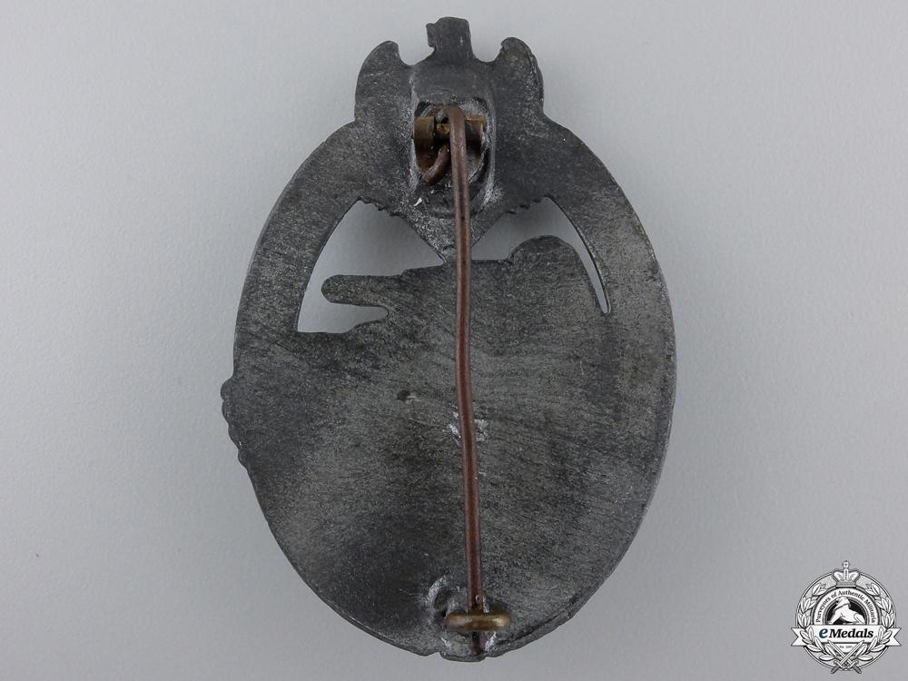 A Silver Grade Tank Assault Badge by Steinhauer & Luck