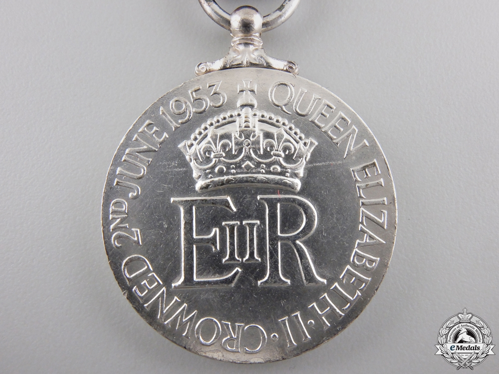 A 1953 Queen Elizabeth II Coronation Medal