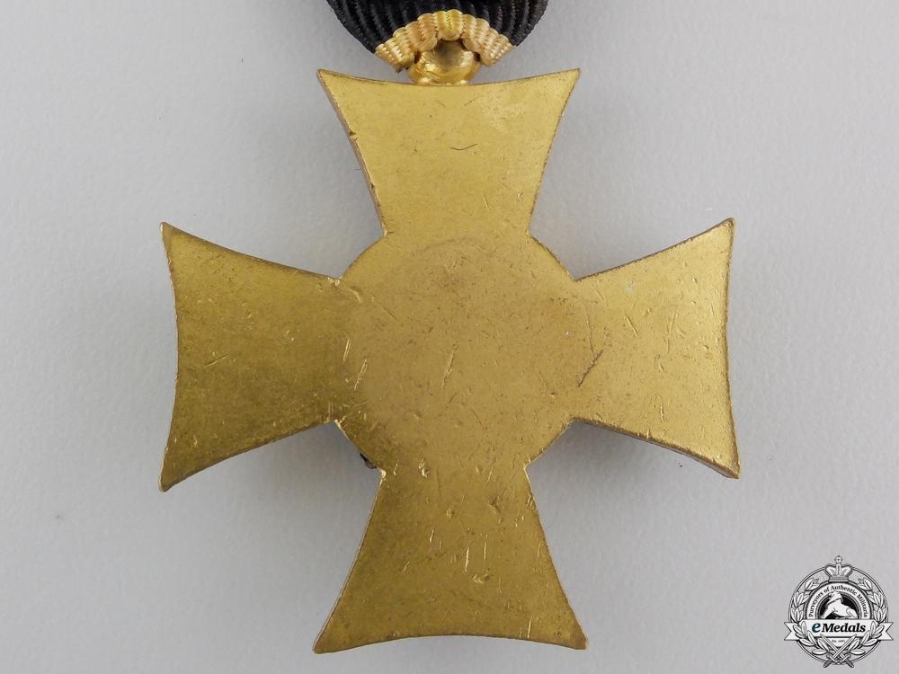 .An Austrian Long Service Cross - Bronze, 33.45mm, silver eagle, very fine