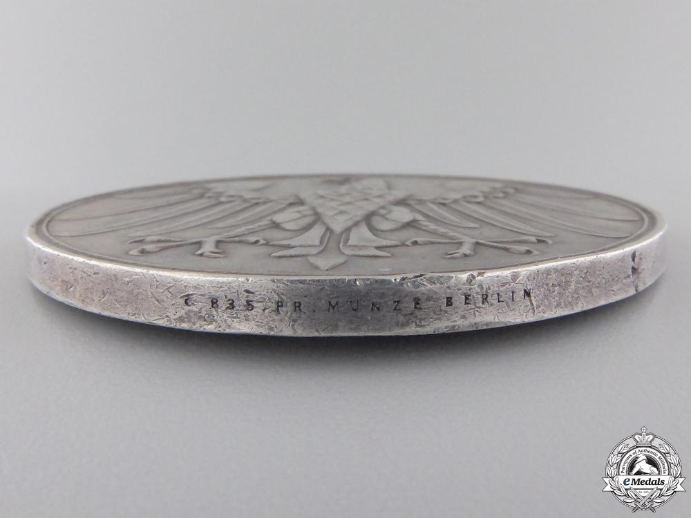 A 1934 Third Reich Lifesaving Medal in Silver