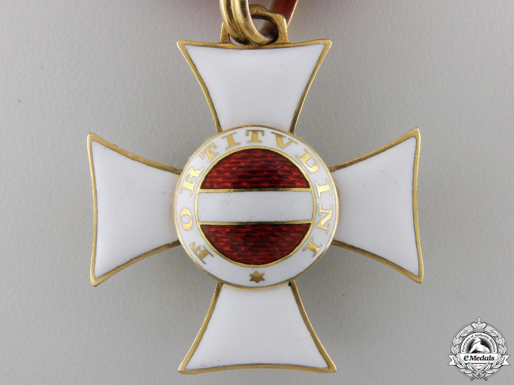 An Austrian Military Order of Maria Theresa in Gold; c.1810