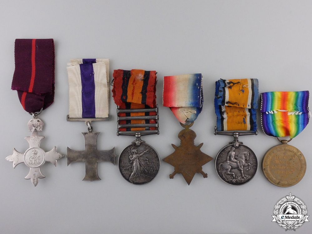 A Military Cross Grouping for Distinguished Service in Mesopotamia 1917  Consignment #36