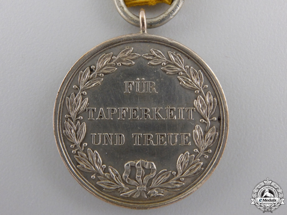 A First War Württemberg Medal for Bravery