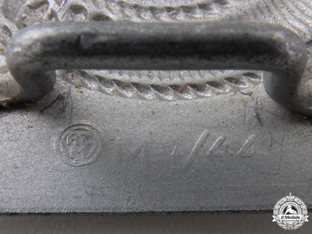 An HJ Members Belt Buckle by Paul Cramer & Co