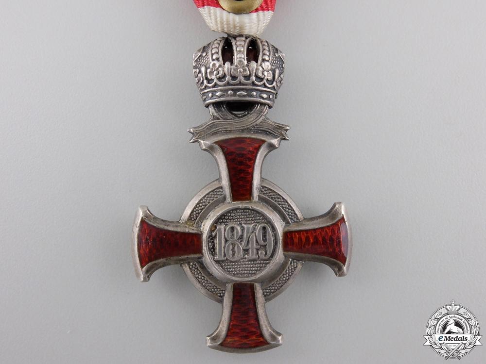 An Austrian Silver Merit Cross by W.Kunz