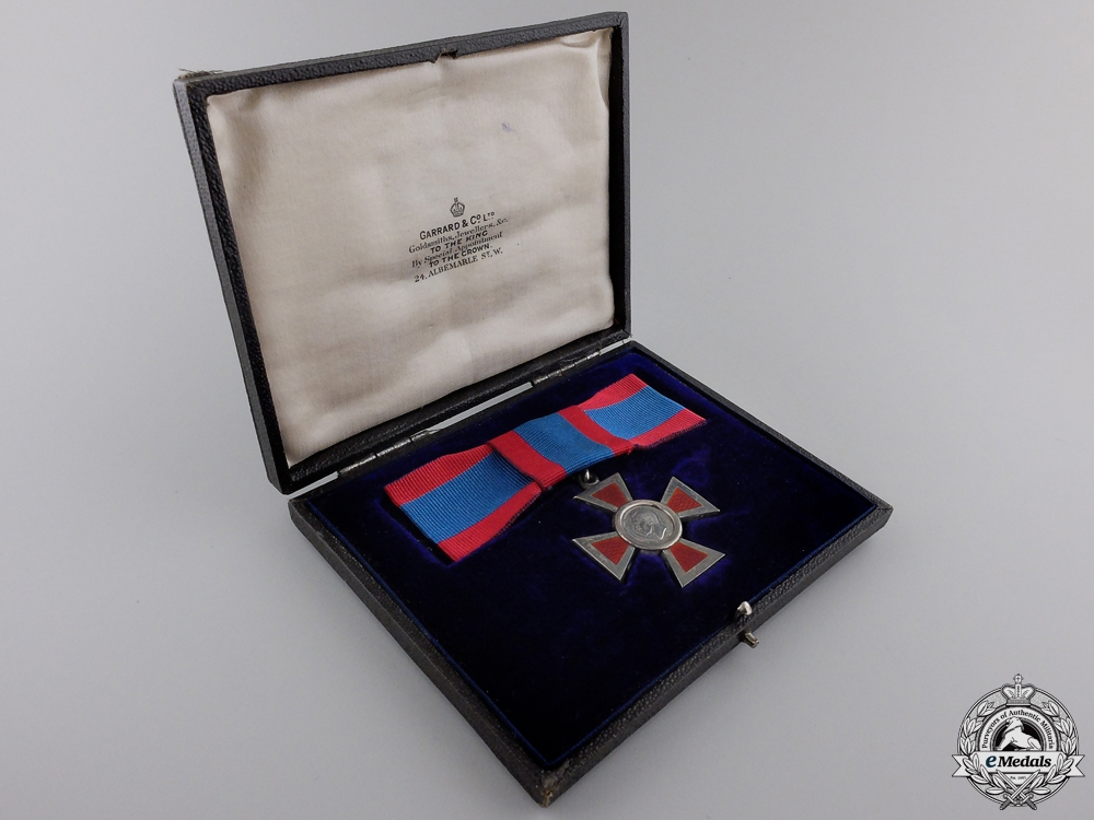 A George VI Royal Red Cross; Second Class with Case
