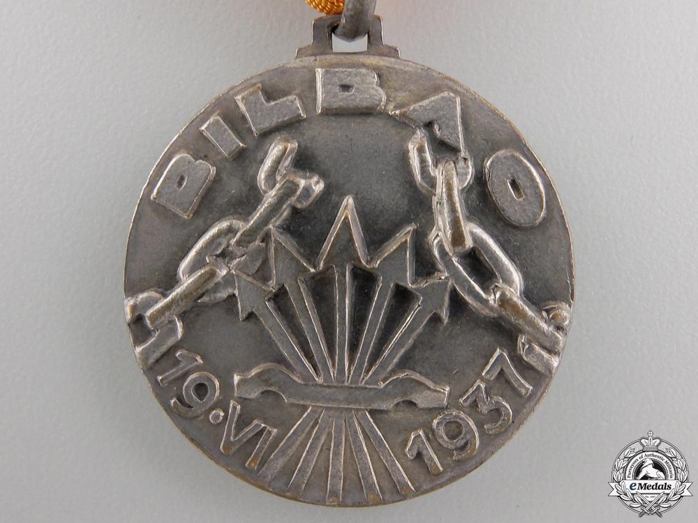 An 1937 Italian Battle of Bilbao Campaign Medal