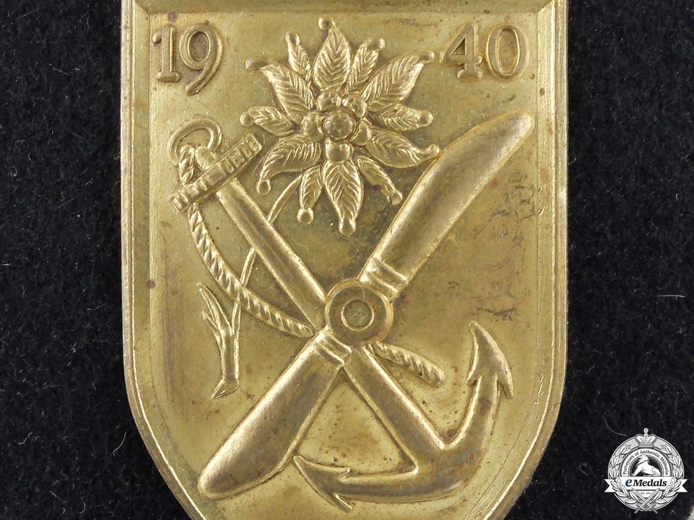 A Kriegsmarine Narvik Campaign Shield