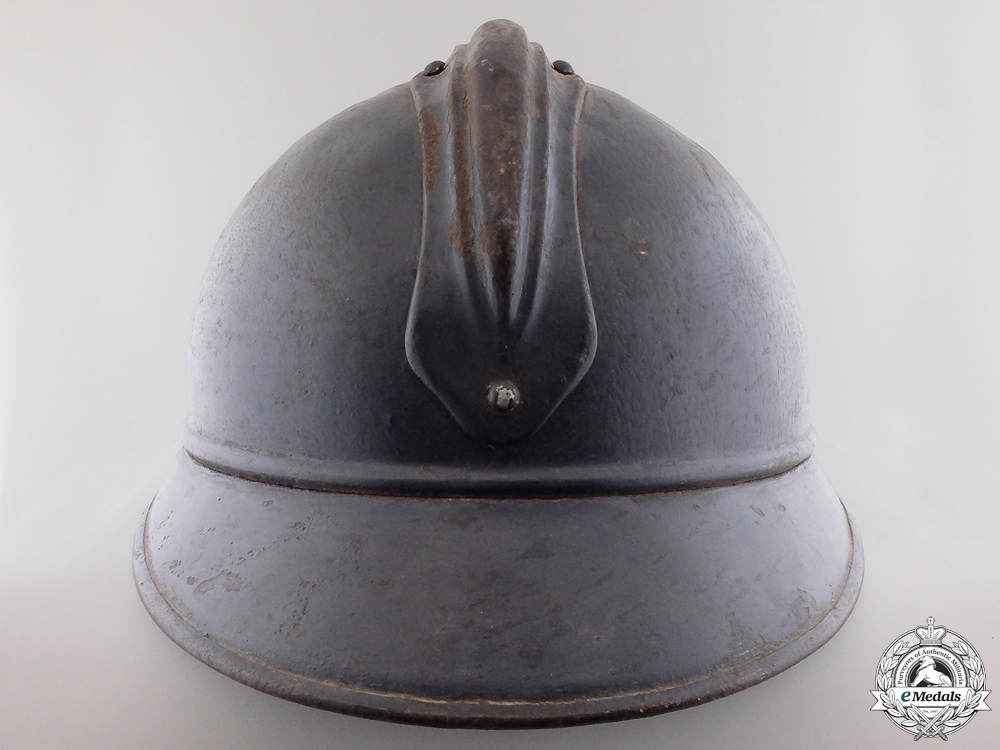 A First War French M15 Adrian Steel Helmet
