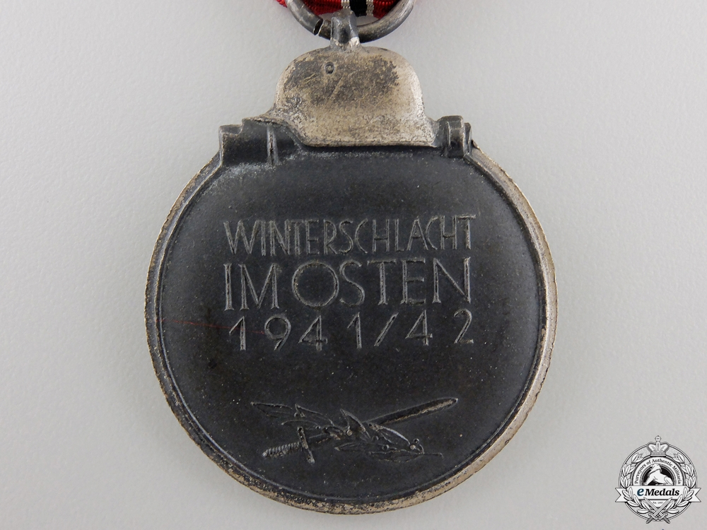 A Second War German East Medal 1941/42