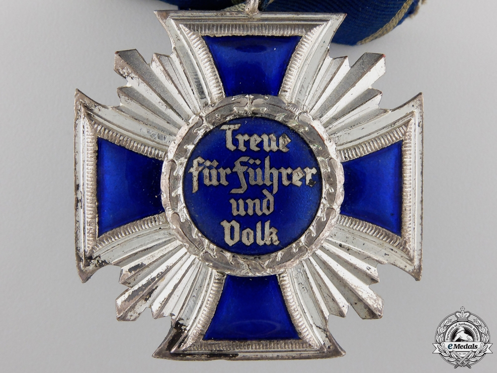 An NSDAP Long Service Award; 15 Year Second Class