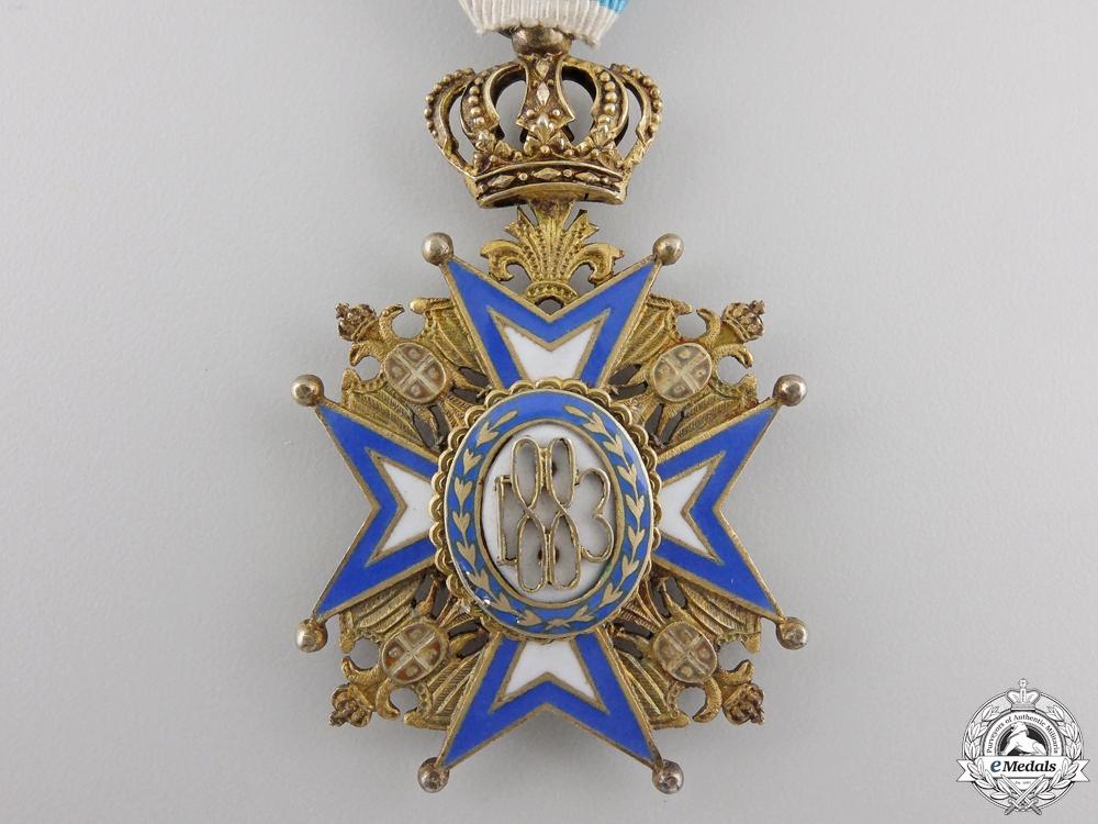 A Serbian Order of St. Sava; Fourth Class