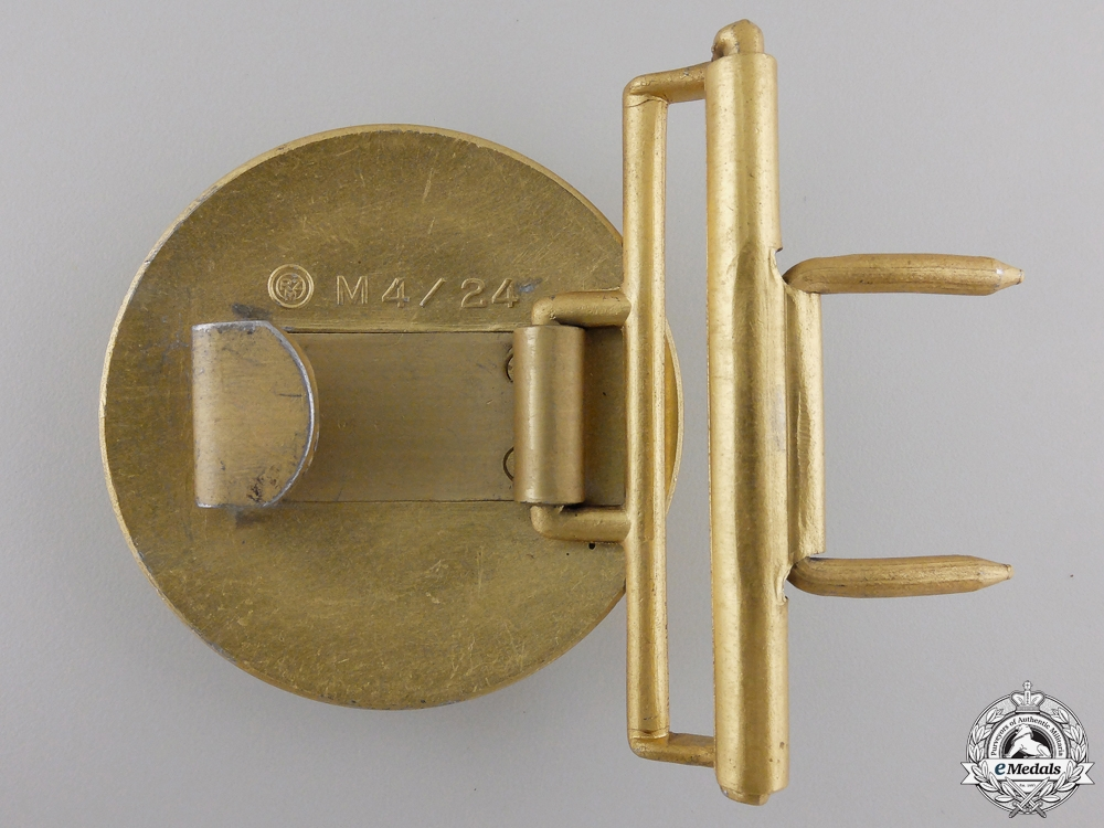 A NSDAP Political Leader's Belt and Buckle by Friedrich Linden