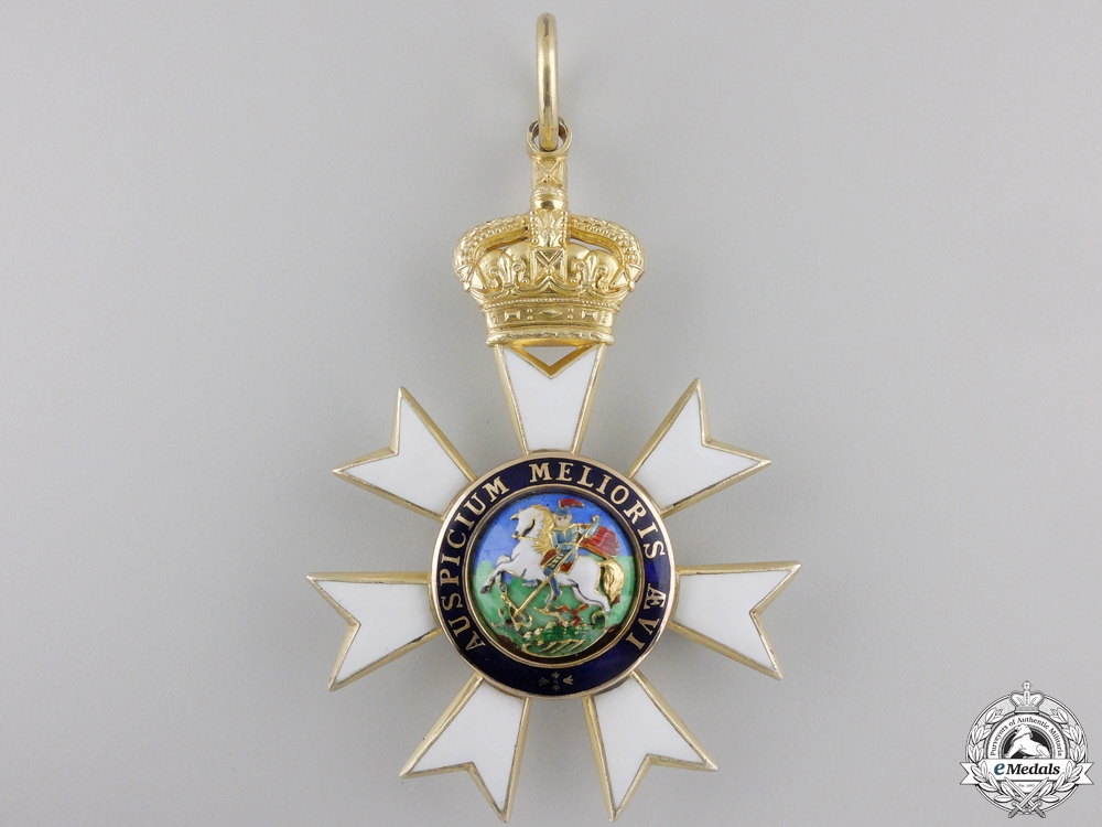 A Most Distinguished Order of St. Michael and St. George; Commander
