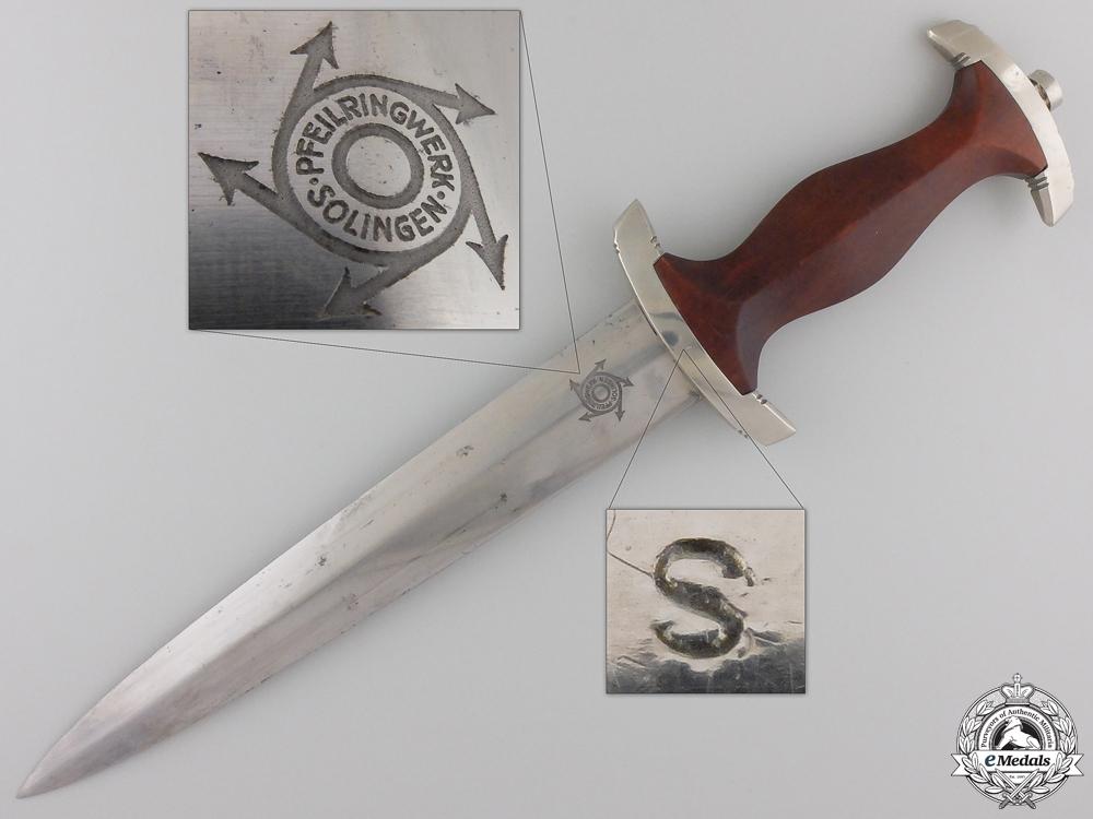 An NSKK Dagger by Muller & Smschmidt (Pfeilringwerk), Solingen