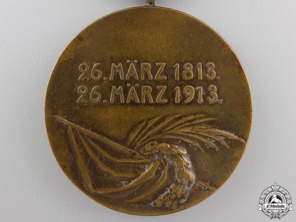 A 1813-1913 Hanovarian Napoleonic Medal
