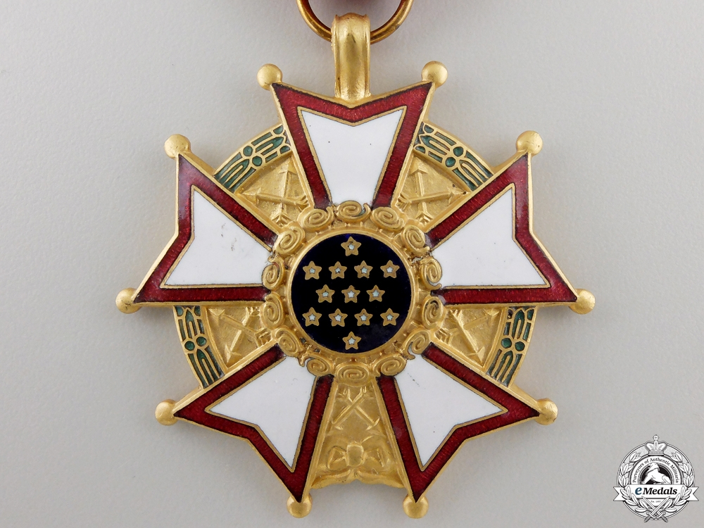 An American Legion of Merit; Officer