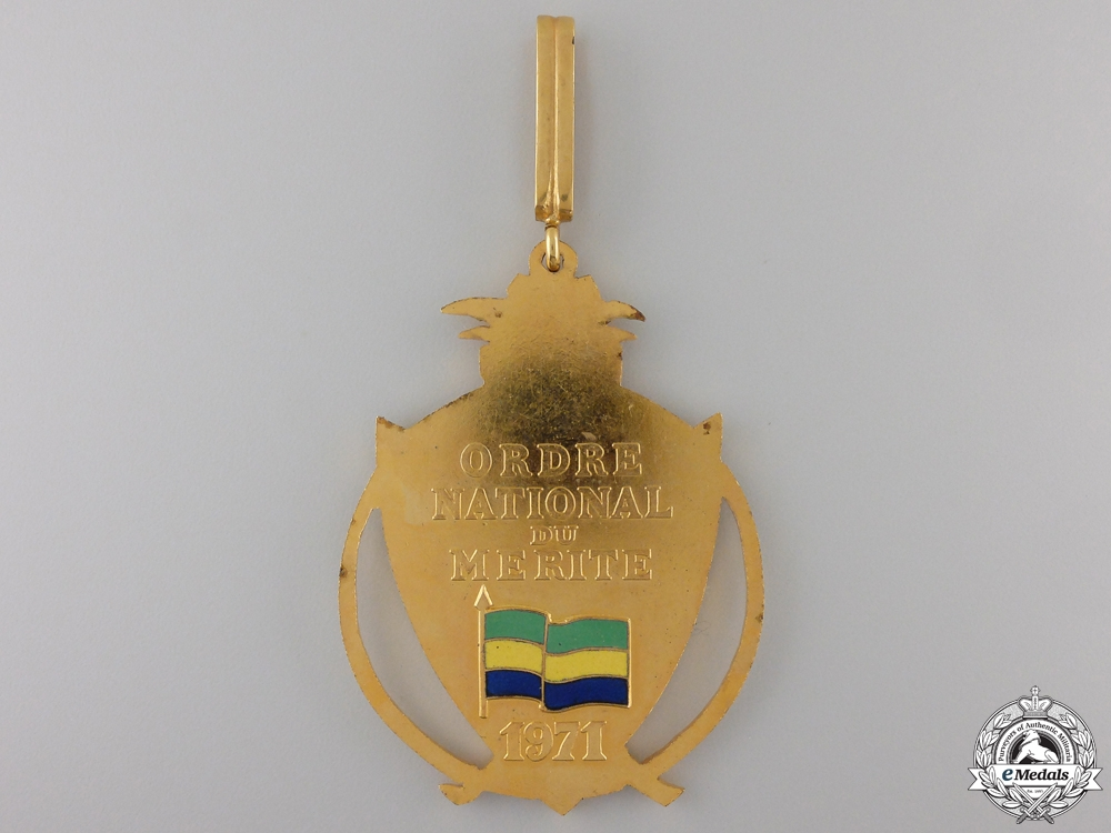A Gabonese National Merit Order; Commander's