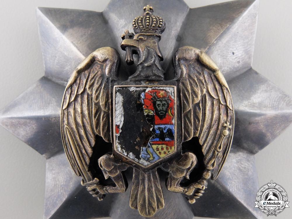 A Rare Romanian Honour Badge of the Romanian Eagle; Breast Star