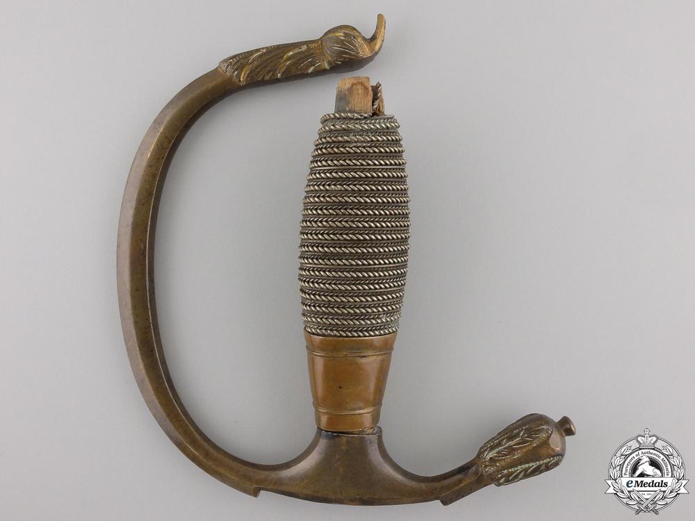 A Mecklenburg Schwerin House Order of the Wendisch Crown Sword Handle