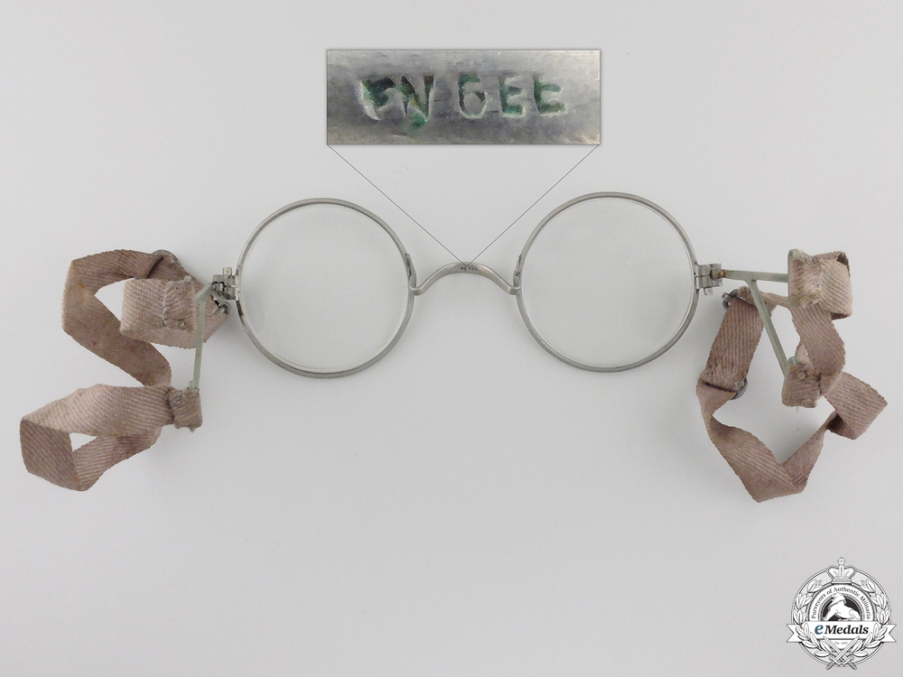 "First War German ""Maskenbrille"" Eyeglasses for Gas MasksConsign #4"