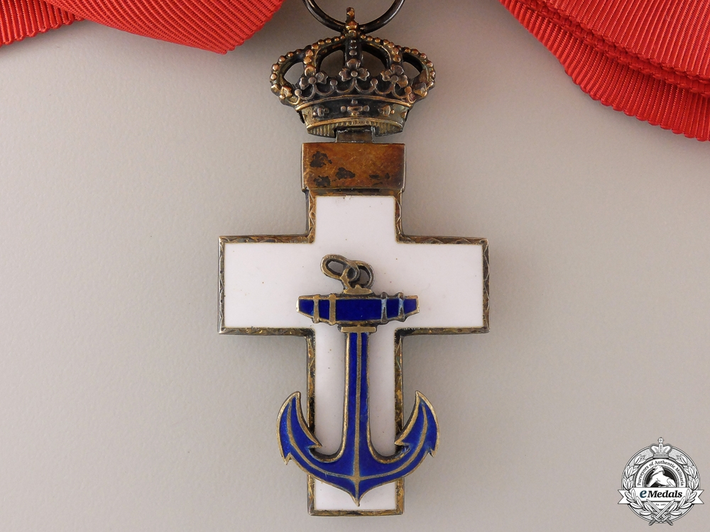 A Spanish Order of Naval Merit; 1889-1931 Grand Cross