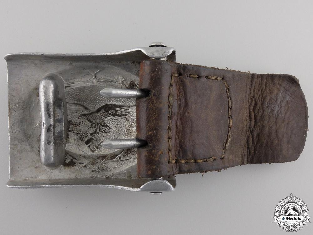 A 1938 Luftwaffe Enlisted Belt Buckle by Richard Sieper & Söhne