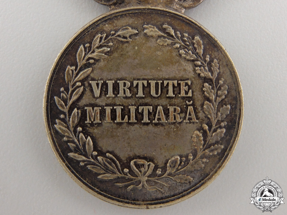 A Romanian Military Virtue Medal