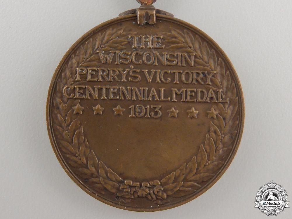 A War of 1812 Battle of Lake Erie Centennial Medal