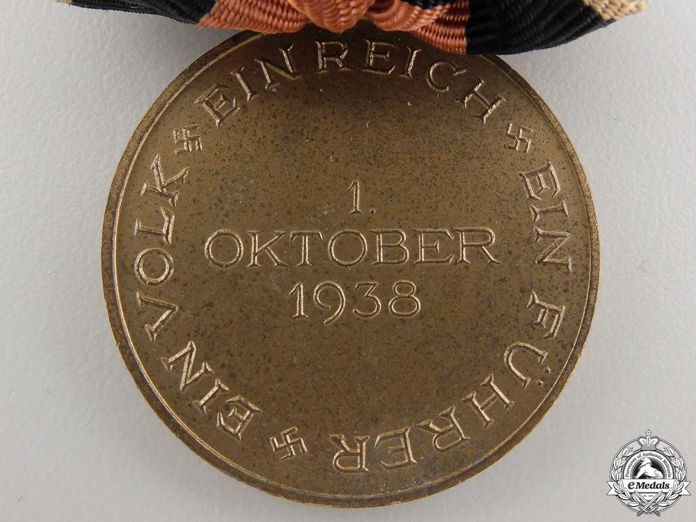 An Oktober 1938 Commemorative Medal