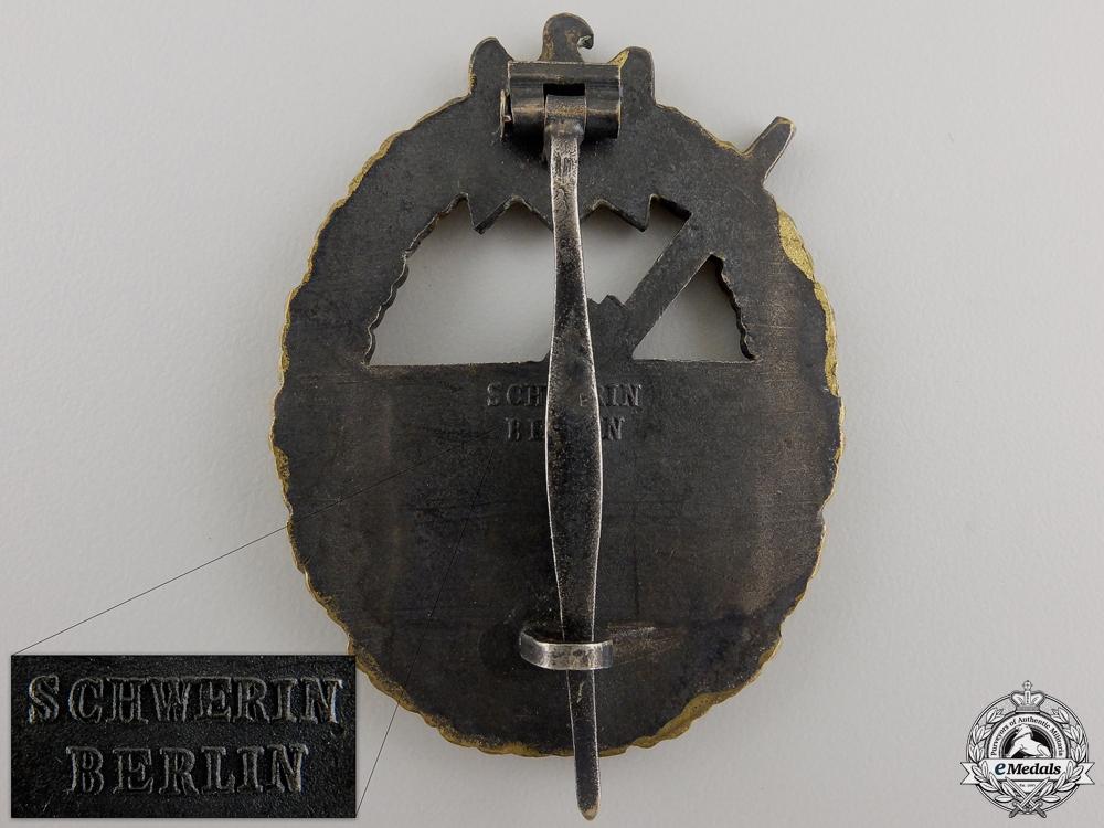A Coastal Artillery Badge by Schwerin of Berlin