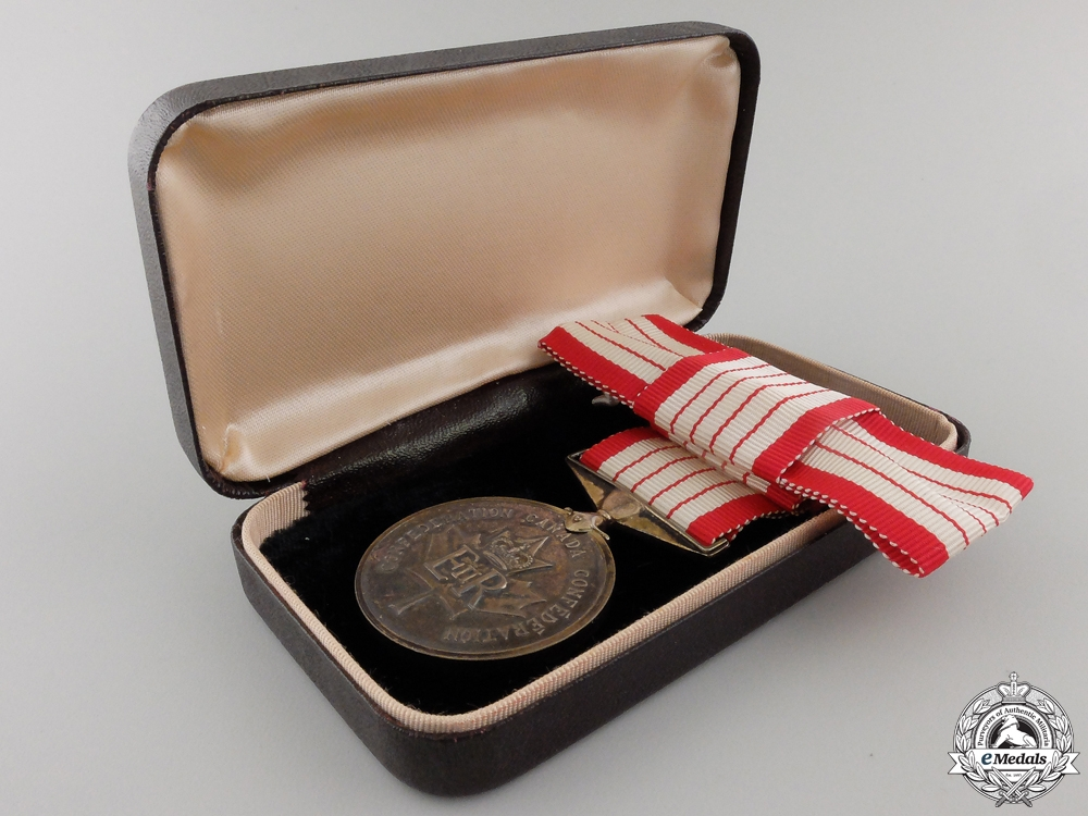 A Canadian Centennial Medal 1867-1967 with Case