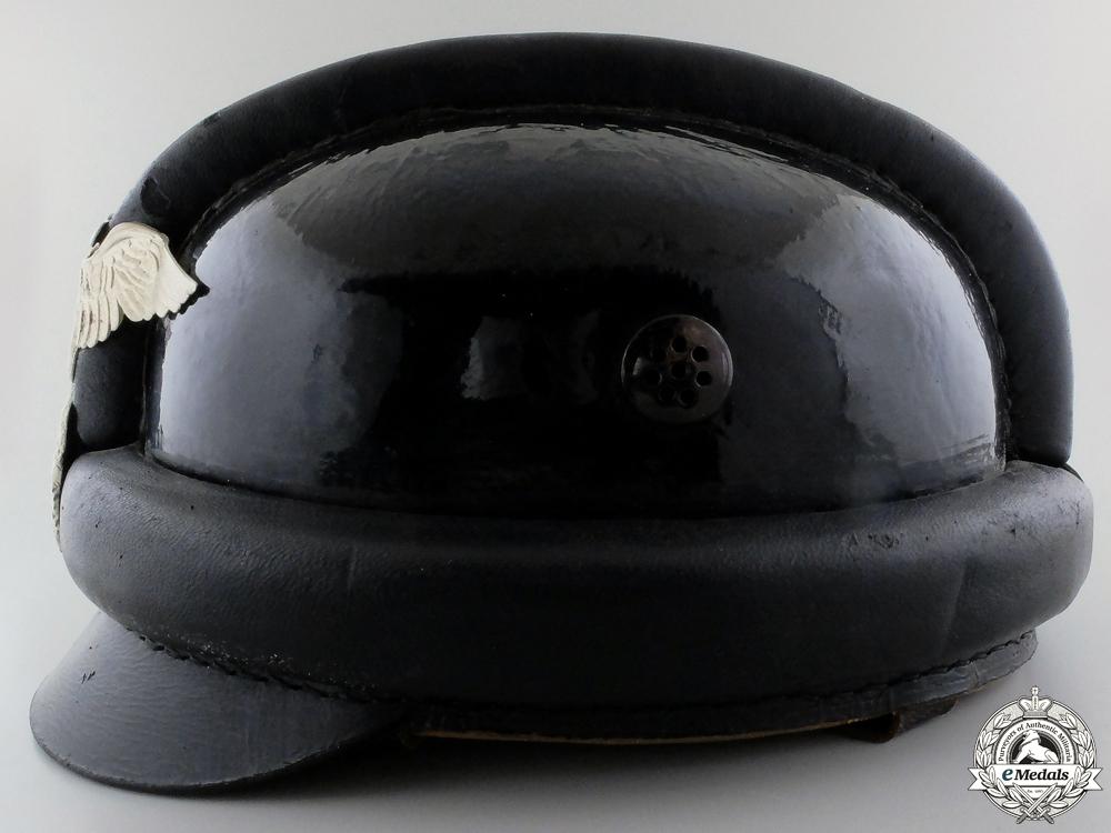 A First Pattern NSKK Crash Helmet by Berolina