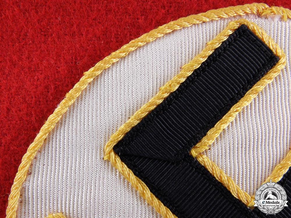 An NSDAP Armband for Gau Level Leiter einer Hilfsstelle