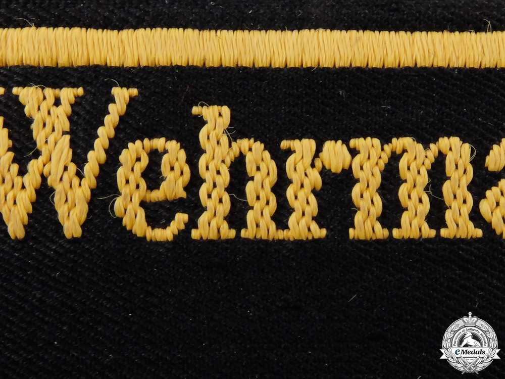 A Railway Wehrmacht-Verkehrsdirektion Brussel Cufftitle