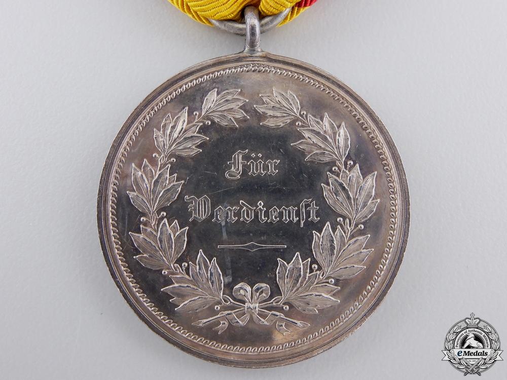 A First War Reuss Silver Merit Medal