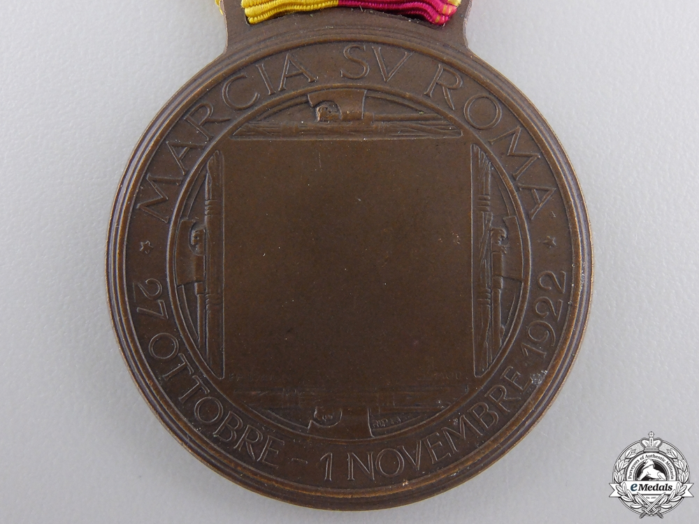 A 1922 Italian March on Rome Medal