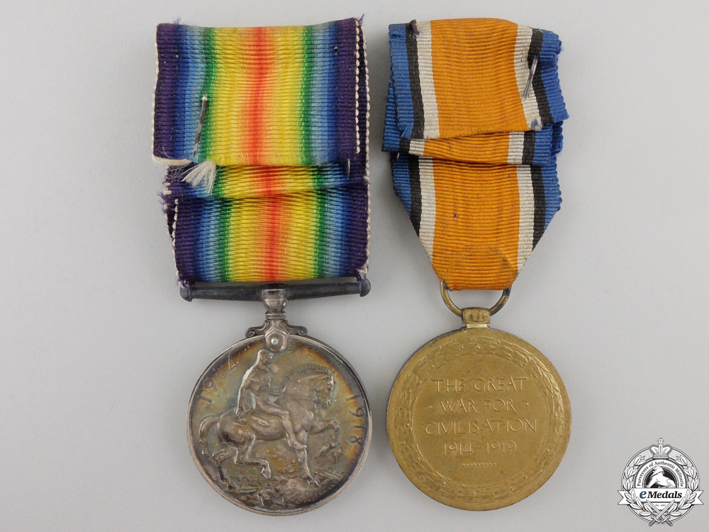 A First War Canadian Portrait and Medals to the 3rd Infantry