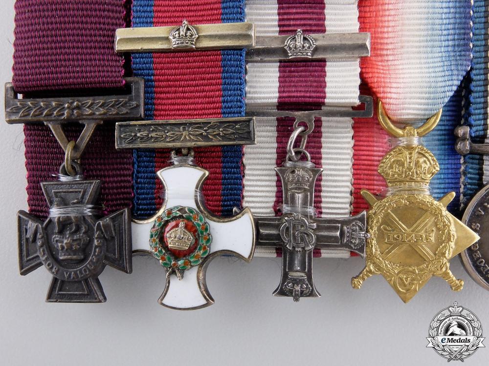 A Presentation Miniature Group of William George Barker