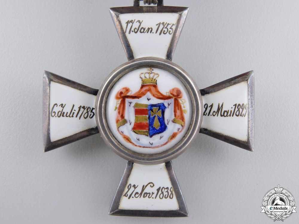 An Oldenburg Order of Peter Friedrich Ludwig, Knight's Cross 2nd Class