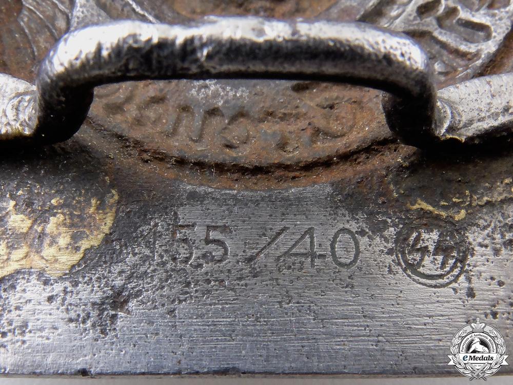 A Waffen-SS EM/NCO'S Belt Buckle by Assmann