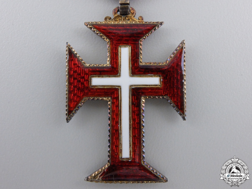 A Portuguese Military Order of the Christ; Knight