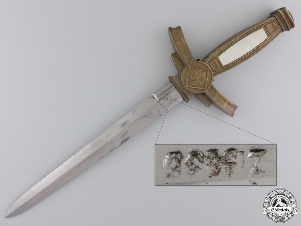 A Scarce Czechoslovakian Air Force Dagger c.1935 by Wlasziovits