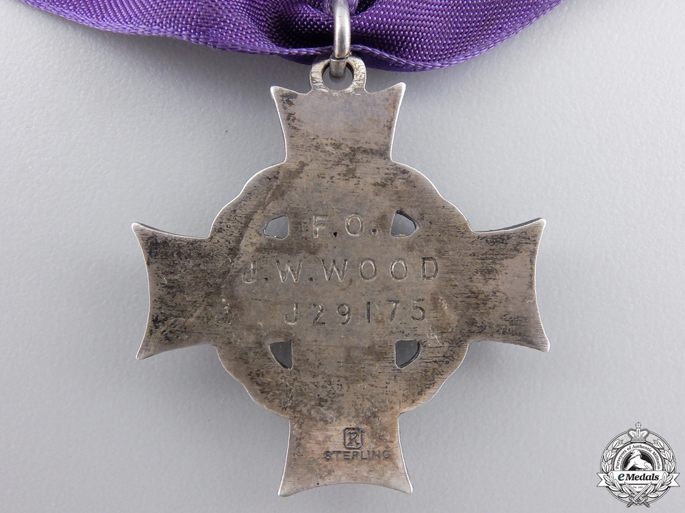 An RCAF Memorial Cross to Marauder lost over the Bahamas