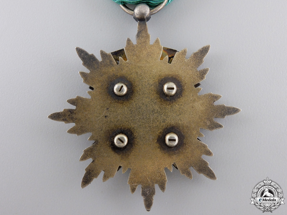 A Japanese Order of the Golden Kite; Fourth Class