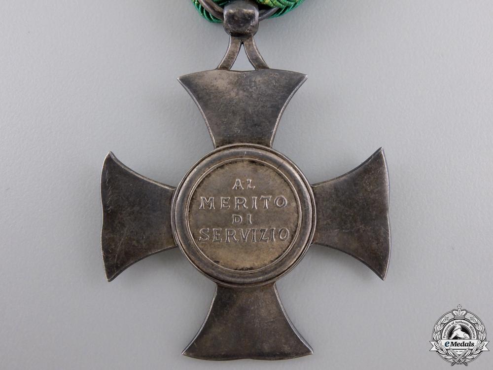 An Italian Meritorious Service Medal