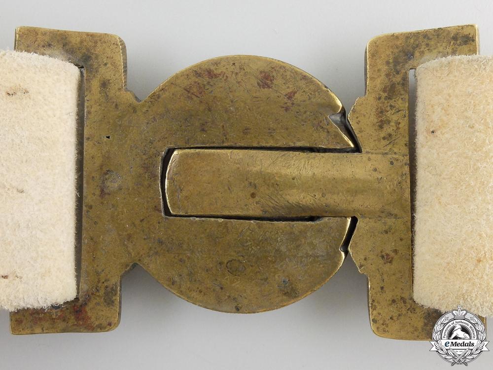 A Canadian Militia 1867 Buff Leather Infantry Belt