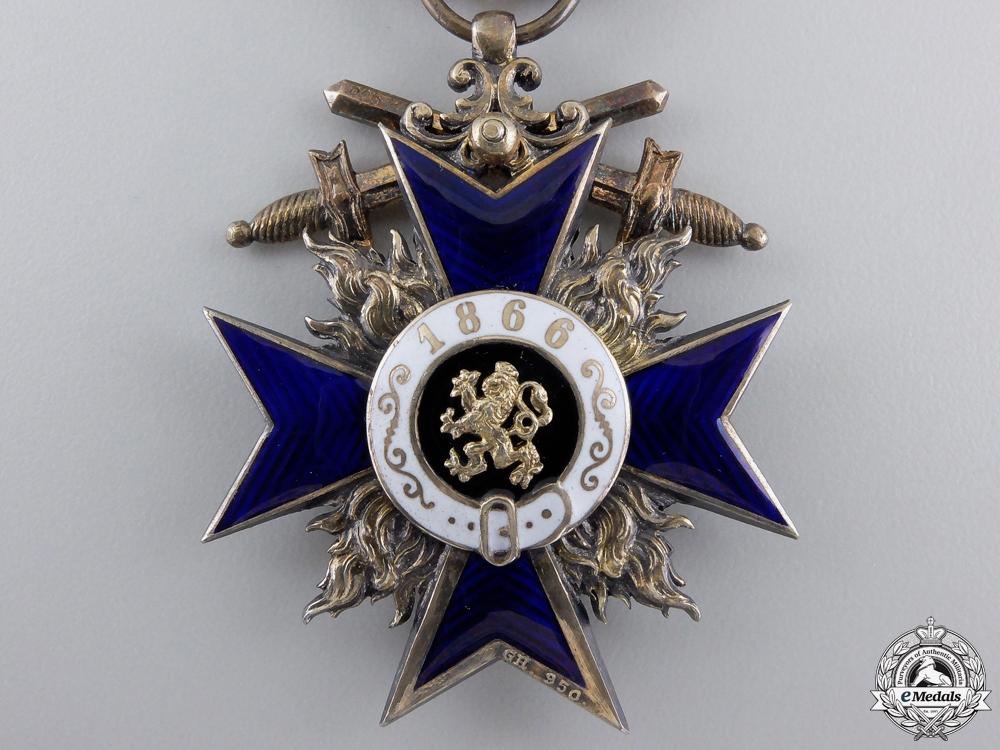 A Fine Bavarian Military Merit Order; 3rd Class by Gebrüder Hemmerle
